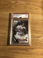 2016 Topps Chrome Corey Seager Rookie Card RC #150 PSA 9 MINT Dodgers H68