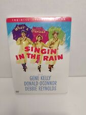 *New* Singing Singin In The Rain~ Very Rare ~Oop~ 2 Dvd Special Edition! Sealed