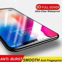 5D Gorilla Full Coverage Tempered Glass Screen Protector For Apple iPhone XS MAX