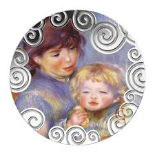 Cameroon 2019, 50 mm Maternity in Art (child with a biscuit by Renoir)
