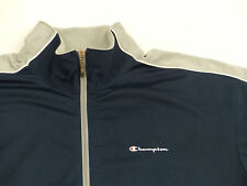 *CHAMPION CASUAL VINTAGE RETRO TRAINIGS JACKE*BLAU*HIP HOP RAP*GR: XL*TIP TOP