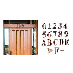 Mailbox Numbers Personalized Decal House Address Numbers Stickers for Office