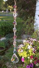 Healing Crystal Heart Suncatcher/Prism W/Swarovski Elements French Drop USA