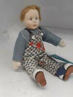 Rare Charlie Calico Boy Doll By Jane Davies for Deb Canham