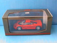 MCLAREN F1 ROAD CAR RED MINICHAMPS 1/43 MAC LAREN ROT