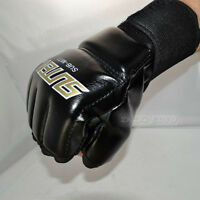 MMA Boxing Gloves Grappling Punching Bag Training Martial Arts Sparring Tool