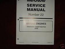 MERCRUSIER DEALER SERVICE MANUAL'S--ENGINES--D-TRONIC