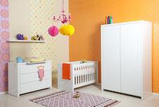 Babyzimmer Camille by Bopita Baby Kleiderschrank, Wickelkommode und Bett NEU