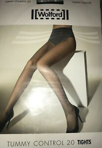 Wolford Tummy Control 20 Tights Color: Cosmetic  Size: Medium 18517 -14