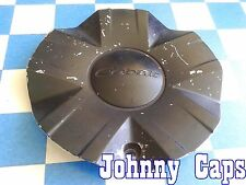 COBALT Wheels [40] PAINTED BLACK Center Caps # STW-188-1 Custom Wheel Cap (1)