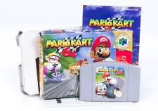 Mario Kart 64 En Caja-N64 Juego De Nintendo 64 Retro AUS PAL australiano