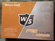 Wilson Staff FG Tour Urethane 12 Golf Balls NEW