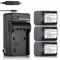 1.5Ah NP-FH70 Battery & Charger for Sony NP-FH30 NP-FH40 NP-FH60 NP-FH100 Camera