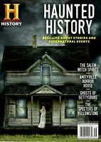 HAUNTED HISTORY History Channel Magazine 2020 Real-Life Ghost Stories Events