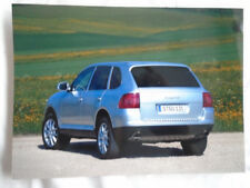 Porsche Cayenne press photo c2003 German text