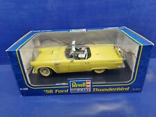 Revell 1956 Ford Thunderbird Convertible Yellow Diecast 1:18 1990