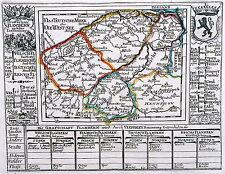 Antique map, Die Grafschaft Flandern ...