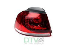 VW Golf Vi Luz Trasera Led Exterior Izquierda, Lado Conductor, (5k1) Hatchback