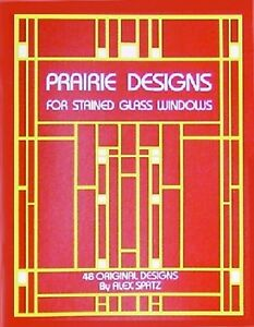 Stained Glass Pattern Book - PRAIRIE DESIGNS