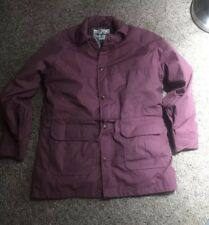 VTG WOMENS WOOLRICH PINK BARN JACKET BOW PARKA ZIP USA WOOL PLAID THE AMERICANs