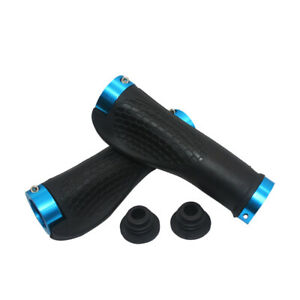 Mountain Bike Bicycle Handlebar Covers Anti-Skid Hand Grips Cycling Protect Blue
