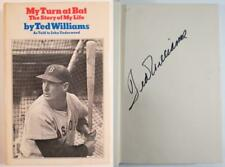Ted Williams Signed Baseball Hardcover Book - First Edition