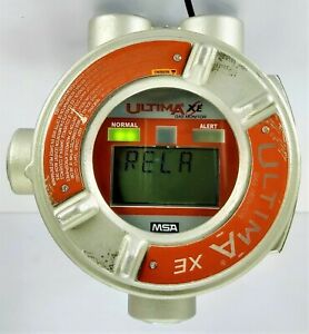 MSA ultima xe gas monitor 3 channel gas monitoring unit in an explosion proof