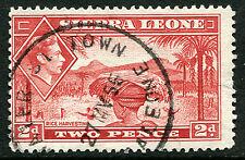 SIERRA LEONE: (11055) skeleton WATER ST TOWN cancel