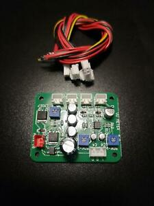 CONTROLLER Stereo Driver per pilotare una coppia di vu meter, vumeter, circuito