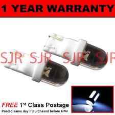 W5W T10 501 XENO BIANCO TESTATA LED LATO FRECCE LAMPADINE x 2 HID sr100102