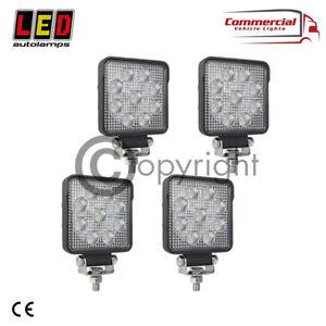 LED AUTOLAMPS 10015BM HIGH POWER OSRAM LED SQUARE WORK LAMP 12/24V TRUCK TRAILER