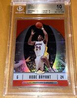💎Pop 6 2006-07 Kobe Bryant TOPPS FINEST REFRACTORS #25 BGS 10 PRISTINE PSA