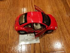 Franklin Mint Precision Models Volkswagen New Beetle 1:24 Scale Red
