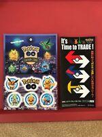 Pokemon go  Very Rare Safari Zone JAPAN Yokohama seal sticker Nintendo F/S