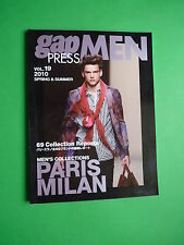 Gap Press MEN Fashion magazine Spring & Summer 2010 Collections Paris MIlan v 19