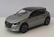 Norev 3 inches. Nouvelle Peugeot 208 gris metal Neuf en boite Norev.échelle 1/64