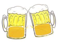 oktoberfest bierglasbrille brille gelbe gl ser karneval. Black Bedroom Furniture Sets. Home Design Ideas