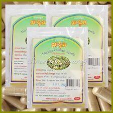 300 Capsules Moringa Oleifera Herbs Vegetarian 450mg 100% Natural Organic