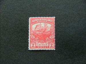 Newfoundland 1919 2c carmine-red SG131a LMM