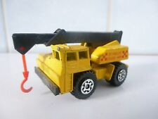 MATCHBOX  mobile crane no 42 grue mobile 1/90  Année 1984 Made in MACAU