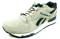 Reebok GL 6000 Classic Running Sneaker Mens Shoes M42933 Leather Grph/Wht/Blk