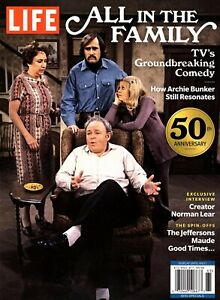 """LIFE Magazine ~""""ALL IN THE FAMILY"""" ~ 50th Anniversary ~ Archie Bunker ~ NEW 2021"""