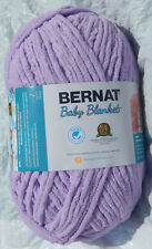 Bernat Baby Blanket in Lavender, 10.5oz/300gm - NIP & Smoke Free Home