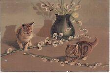 CPA 24 - Animaux - Les Chats - Carte Gauffrée