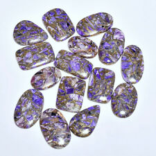 695.00CT.100% MOHAVE COPPER CHAROITE 15PES CABOCHON LOOSE GEMSTONE Z-6253