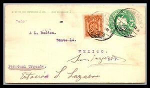 GP GOLDPATH: MEXICO POSTAL STATIONARY 1907 _CV747_P03
