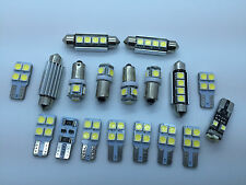 AUDI A3 S3 RS3 8PA FULL LED Interior Lights 18 pcs SMD Bulbs White Error Free