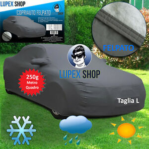 EMMEA Telo Copri Auto Felpato Compatibile con Volvo V50 SW 04  13 COPRIAUTO Cover Impermeabile Anti Strappo Lavabile E AntiGraffio