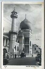 Singapore Postcard - Moslem Mosque