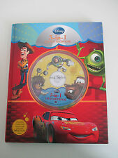 Disney 3-in-1 CD Storybook - Cars, Monsters Inc., Toy Story